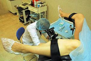 Прием и осмотр гинеколога