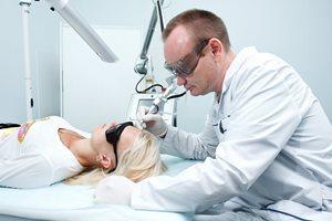 Удаление папиллом лазером на лице